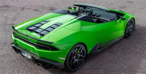 V10 Lamborghini Lamborghini Huracan Spyder Gets Novitec Torado S Touch