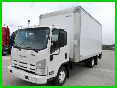 isuzu npr hd 2010 box trucks