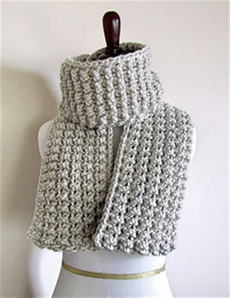 pattern for thick yarn scarf ravelry easy chunky scarf pattern by chez pascale