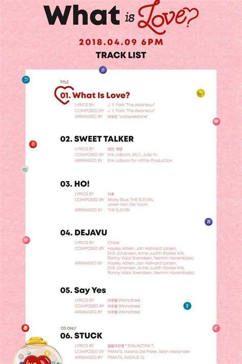 twice what is love lyric twice 5th mini album quot what is love quot twice