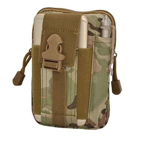 Compact Multi Purpose Pouch 8bees tactical molle pouch multi purpose compact edc utility gadget belt waterproof camo