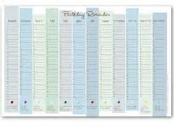 birthday reminder calendar template 8 best images of printable birthday calendar reminder