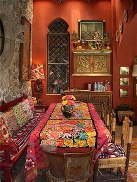 Bohemian Dining Room Boho Dining Rooms And Bohemian On Pinterest