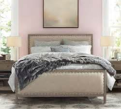 pottery barn montgomery headboard bedroom collections pottery barn