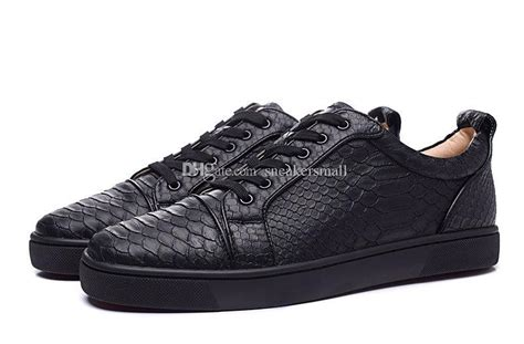 Sepatu Sneaker Snake Leather Semprem 01 7 cheap mens womens low top snakeskin bottom flat casual luxury shoes for and brand
