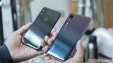 iphone v huawei huawei p20 pro vs iphone x who wins the battle of giants