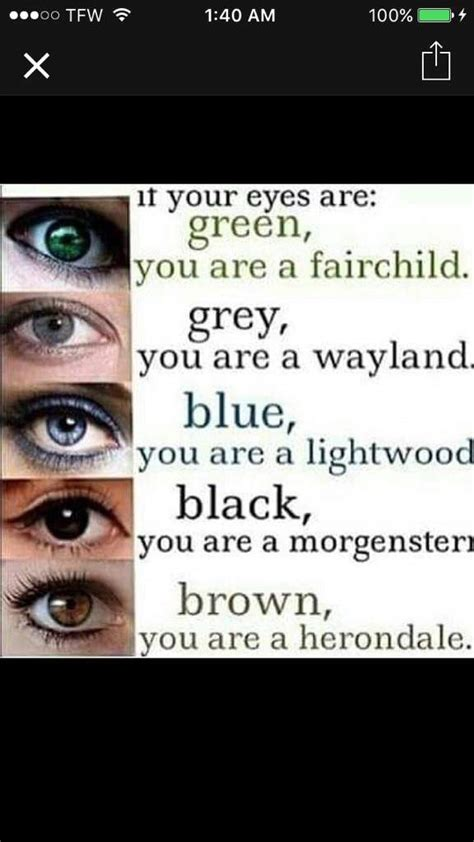 what eye color means what a combination of eye colors shadowhunters amino