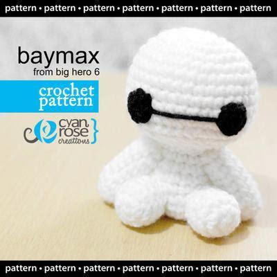 Amigurumi Baymax donpatron baymax patr 243 n de crochet amigurumi
