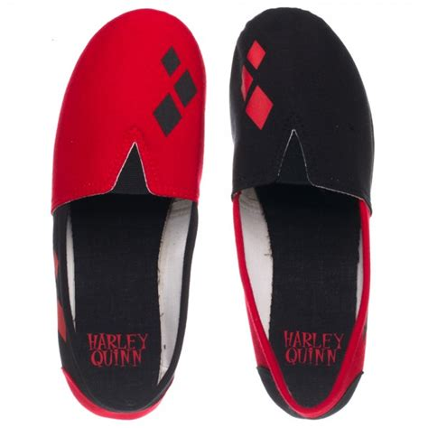 harley slippers harley quinn slip on shoe slippers