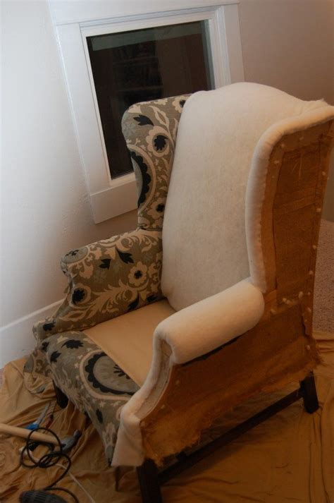 How To Reupholster A Wingback Chair Future Home Pinterest How To Reupholster A Swivel Chair