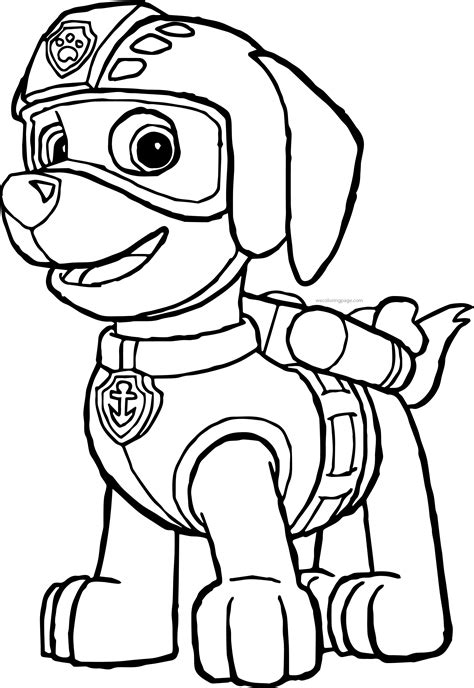 sky coloring page paw patrol diannedonnelly