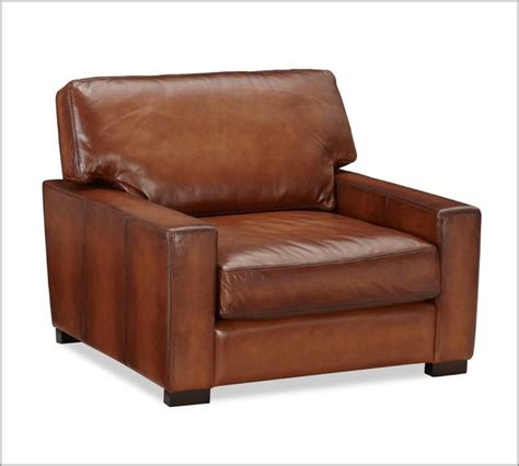 pottery barn armchair turner leather armchair traditional armchairs and