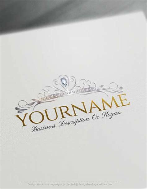 design free logo uk online princess crown logo design free logo maker