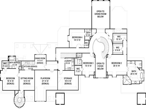 floor plans castle style homes home design and style