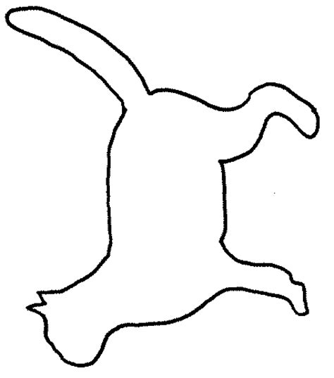 Outline Drawing Cat Laying Vitruvian Outline by Cat Outline Drawing Clipart Best