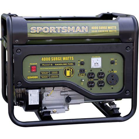 automatic biography generator sportsman gasoline powered 4000w portable generator black