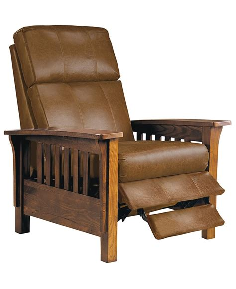 mission style leather recliner pin by amanda green on furniture pinterest