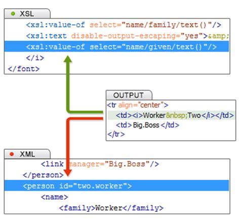 xsl layout editor xsl xslt debugger