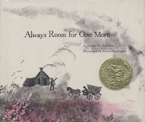 room for one more always room for one more 1966 caldecott medal winner association for library service to