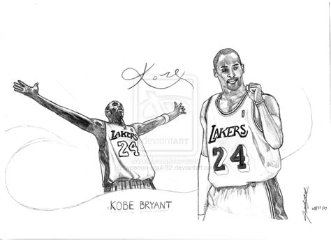 drawing kobe bryant pictures drawing lebron james pictures
