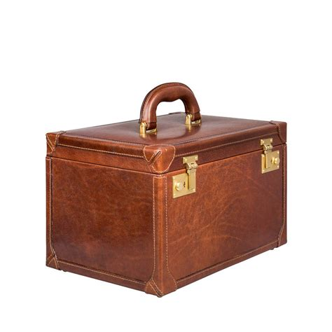Vanity Cases by Luxury Leather Vanity The Bellino By Maxwell