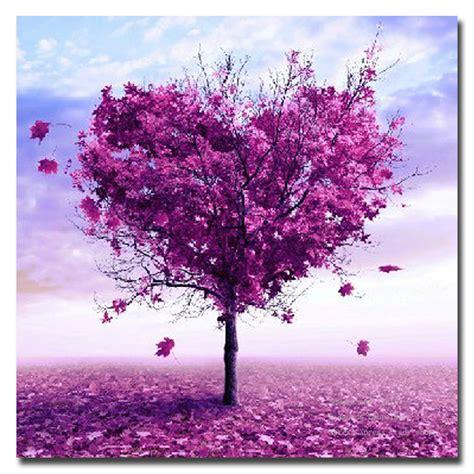 cheap 5 piece set red lovers tree loving landscape canvas 5d diy diamond painting romantic love tree fashion home