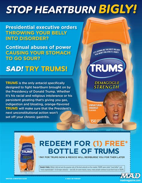 mad about a brilliant look at our brainless president mad about on sale now mad magazine