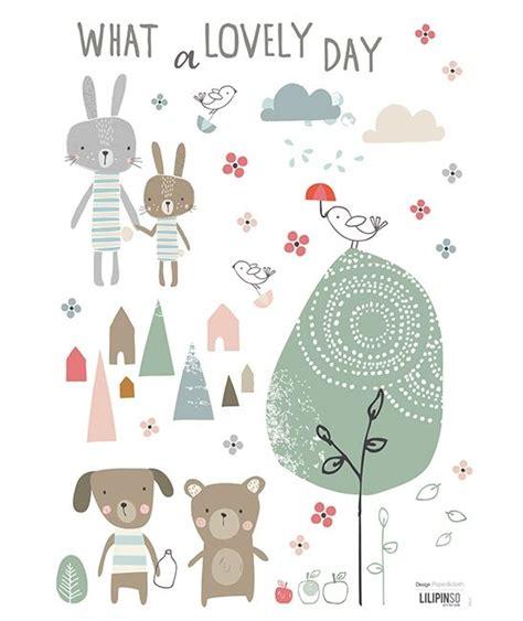 planche de stickers a3 chambre d enfant et b 233 b 233 lovely day scrapprint happy