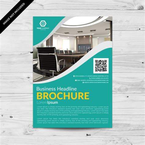 custom brochure templates business brochure template vector free
