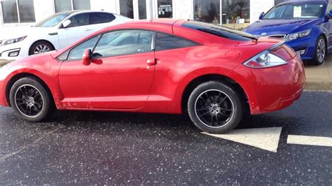 car manuals free online 1999 mitsubishi eclipse navigation system 2007 red mitsubishi eclipse gs auto black wheels tinted low miles 57k youtube
