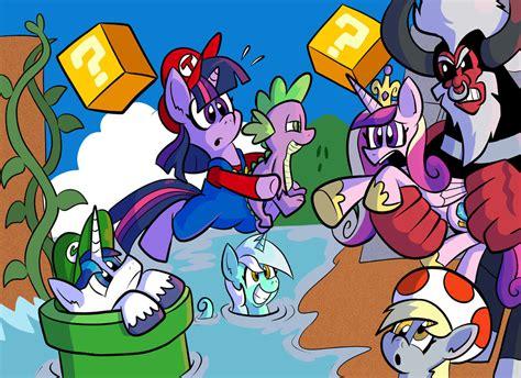Kaos Mario Bros And Friends 17 Tx twilight siblings by pembroke on deviantart