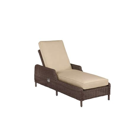 custom chaise cushions brown jordan vineyard patio chaise lounge with harvest