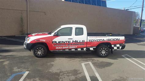 Puente Hill Toyota Puente Toyota Truck Wrap Carwraps