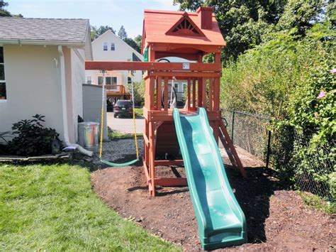 small yard swing set 1000 ideas about kids swing sets on pinterest swing