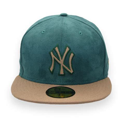 era  york yankees ny mlb fifty green suede