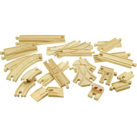 brio train track pieces bigjigs 174 wooden railway track expansion set at toystop