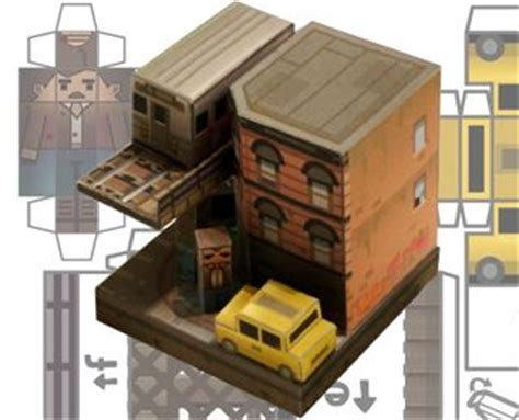Papercraft City - liberty city survivor gta iv paper craft foldables