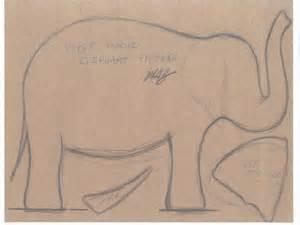 Cardboard Elephant Template by Diy How To Make A Papier M 226 Ch 233 Elephant The New York