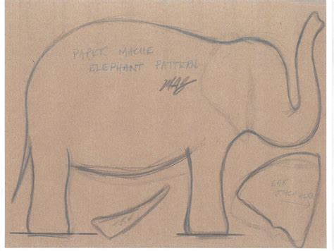 How To Make An Elephant Out Of Paper - diy how to make a papier m 226 ch 233 elephant the new york