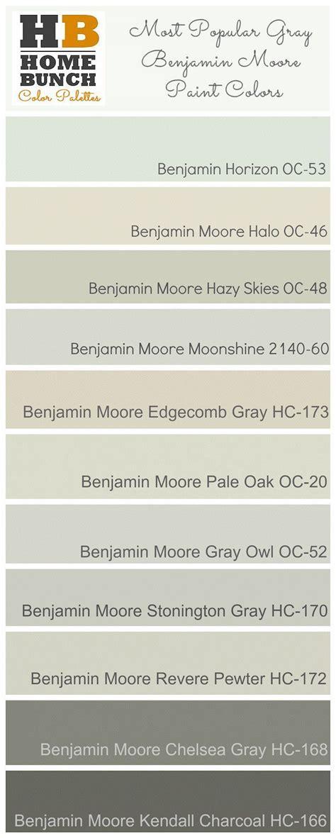 st popular gray benjamin paint colors benjamin