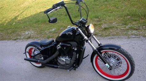 Gebrauchte Motorräder Chopper österreich by Bobber Umbau Honda Shadow Vt600 Motorrad Fotos Motorrad