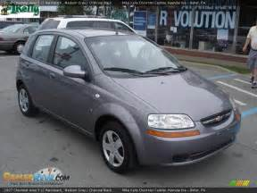 2007 chevrolet aveo 5 ls hatchback medium gray charcoal