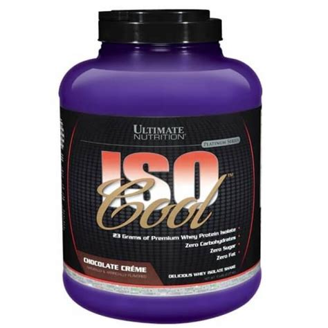 Iso Cool 2 Lbs Ultimate Nutrition Un Whey Protein Isolate Suplemen Iso Cool 5 Lbs