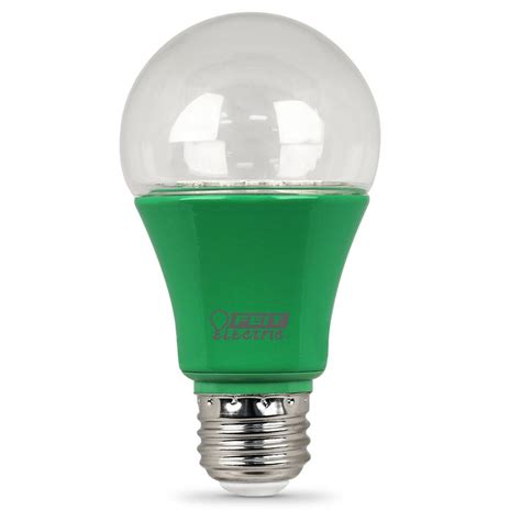 Feit Electric Led Light Bulbs by Feit Electric 60w Equivalent Hydroponic Spectrum A19
