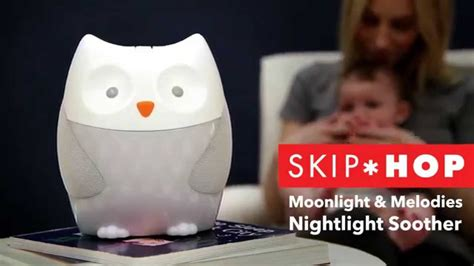 skip hop elephant night light skip hop moonlight melodies nightlight soother youtube