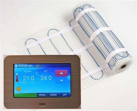 Heizmatte Mit Thermostat 200 by Heizmattenset 200 Watt Www Heizbold De Elektrische
