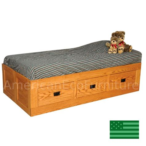 solid wood storage bed amish brady storage bed solid wood usa made children s