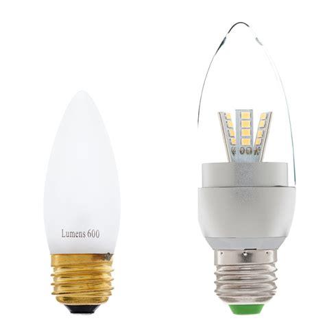 Compare Led Light Bulbs E27 Led Decorative Light Bulb 40 Watt Equivalent Led Chandelier Bulb W Blunt Tip Decorative