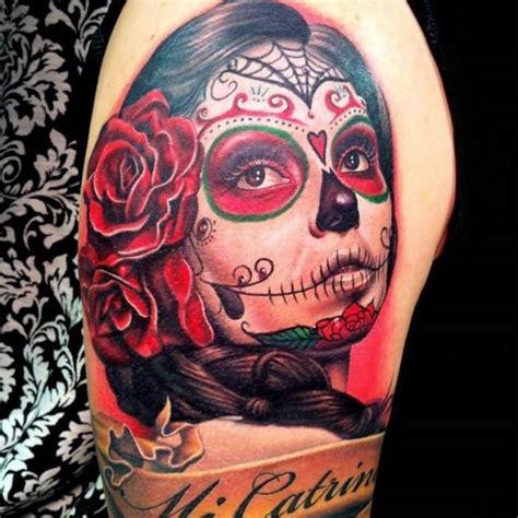 1001 id 233 es tatouage t 234 te de mort mexicaine qui vivra