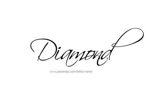 Diamond Tattoo With Name | diamond tattoo designs tattoo collections